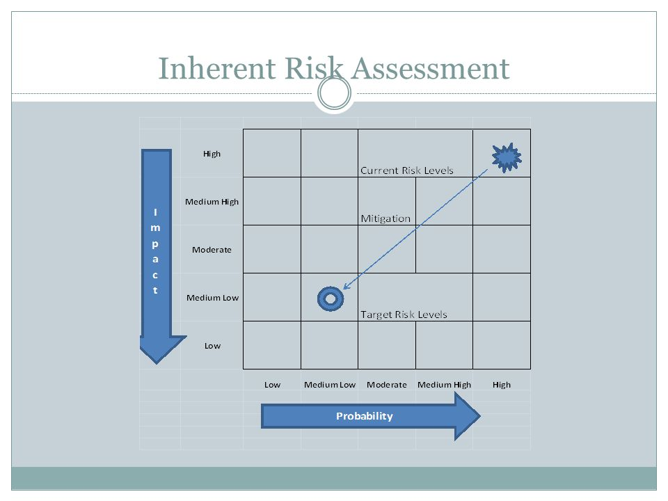 Inherent Risk Assessment