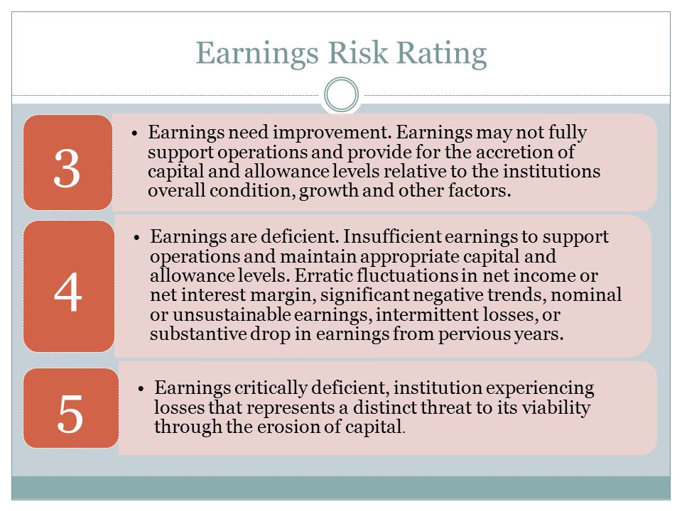 Earnings Risk Rating