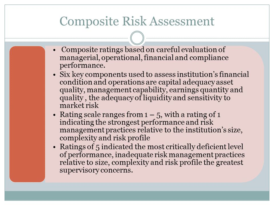 Composite Risk Assessment