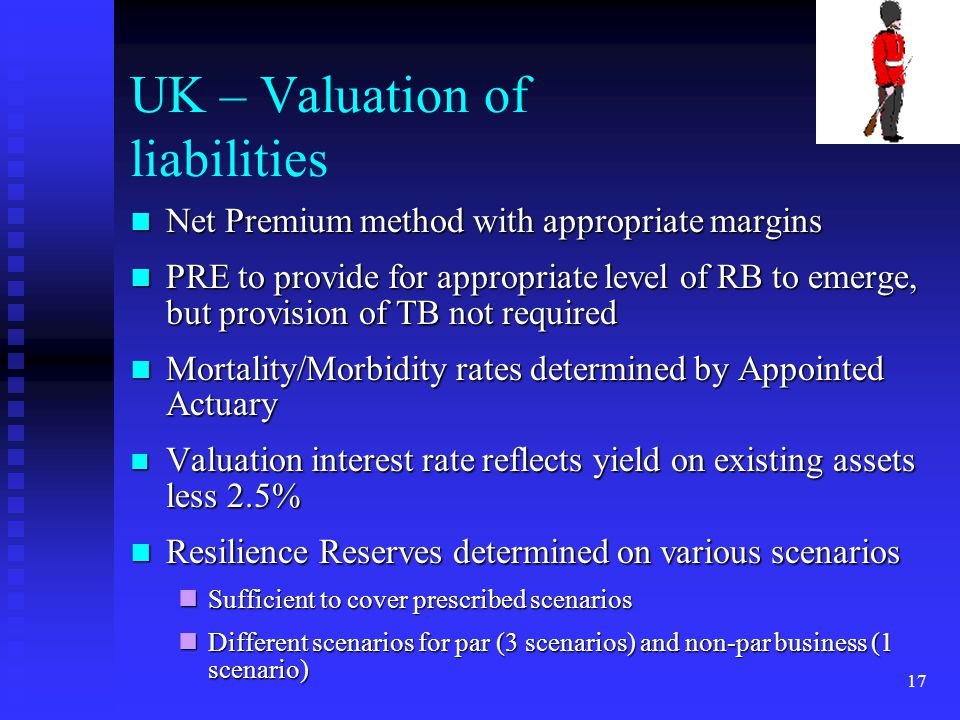 UK – Valuation of liabilities