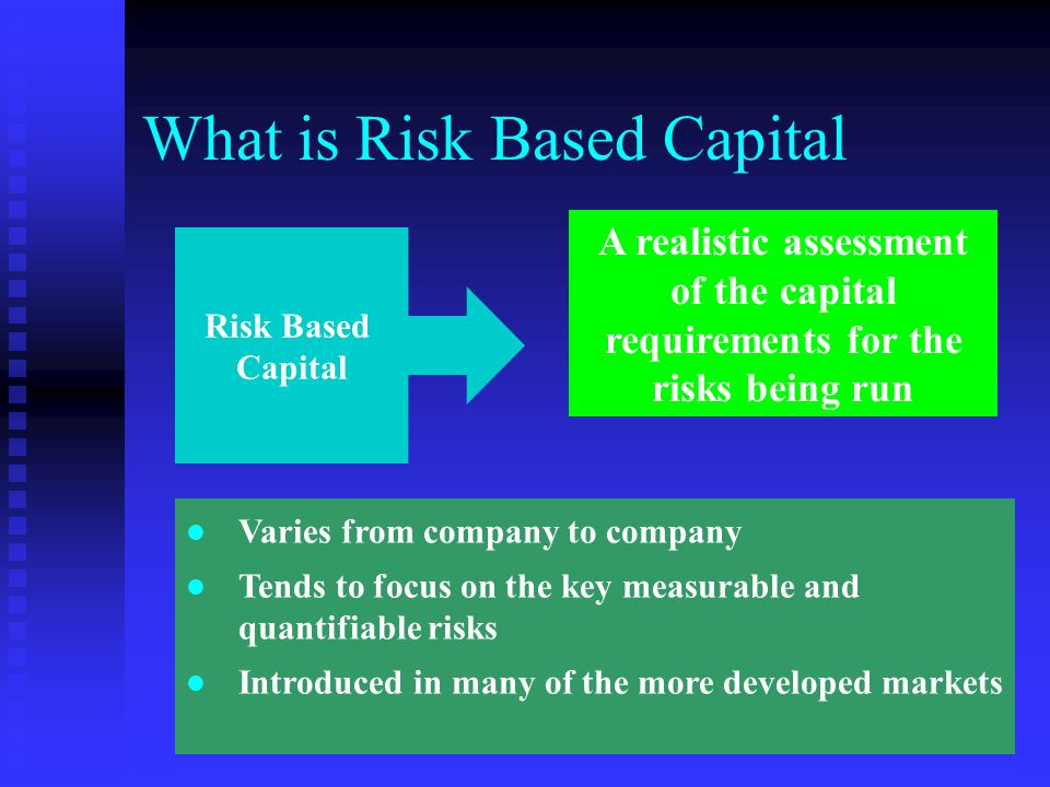 What is Risk Based Capital