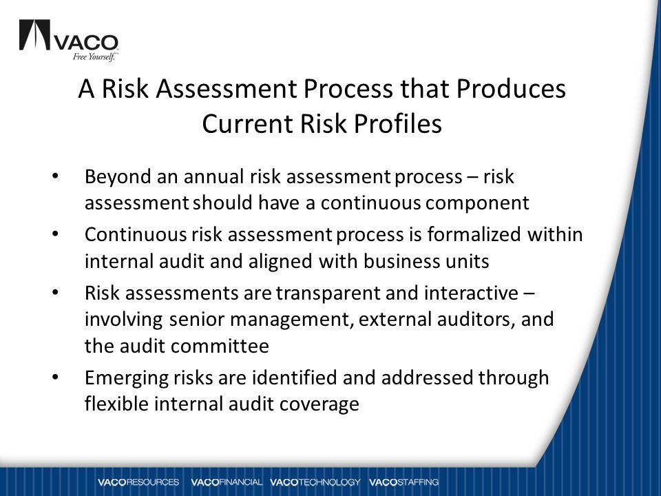 A Risk Assessment Process that Produces Current Risk Profiles