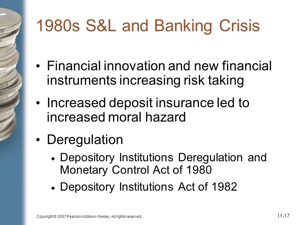 1980s S&L and Banking Crisis