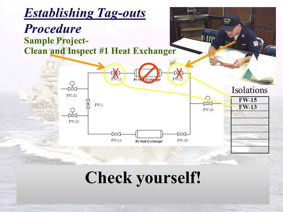 Establishing Tag-outs Procedure