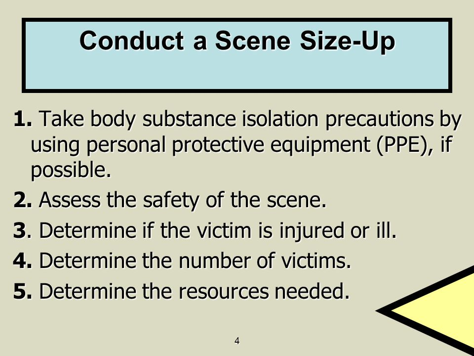Conduct a Scene Size-Up