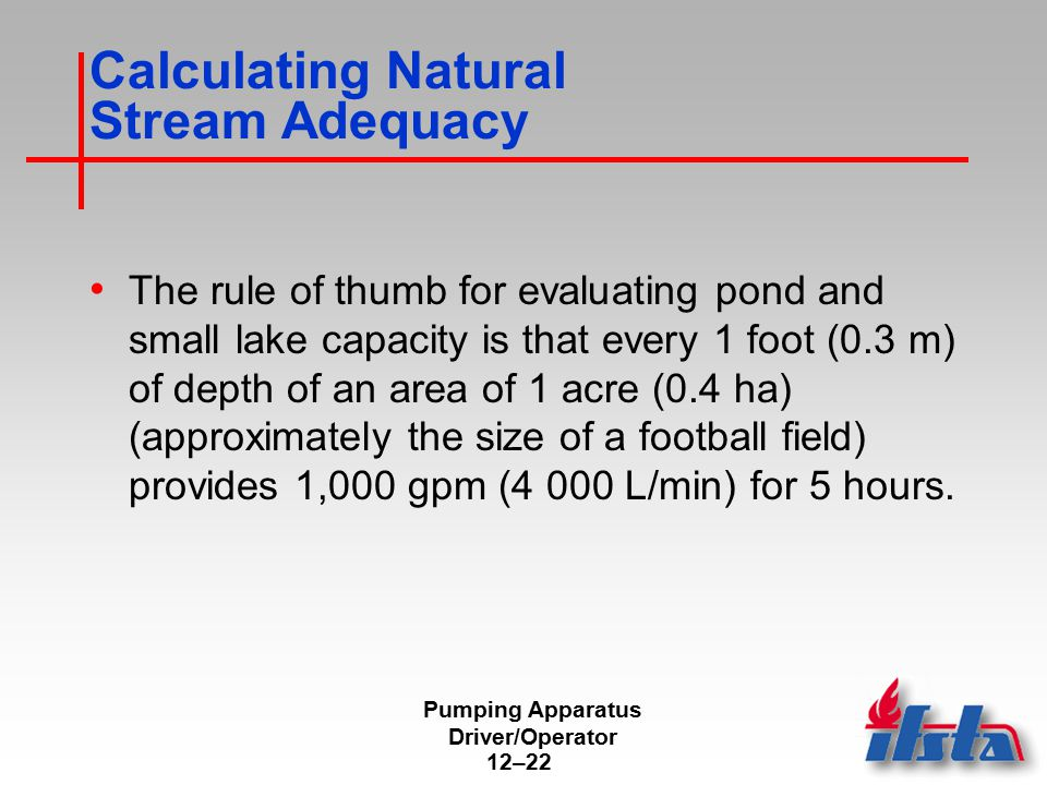 Accessibility of Natural Static Water Supply Sources