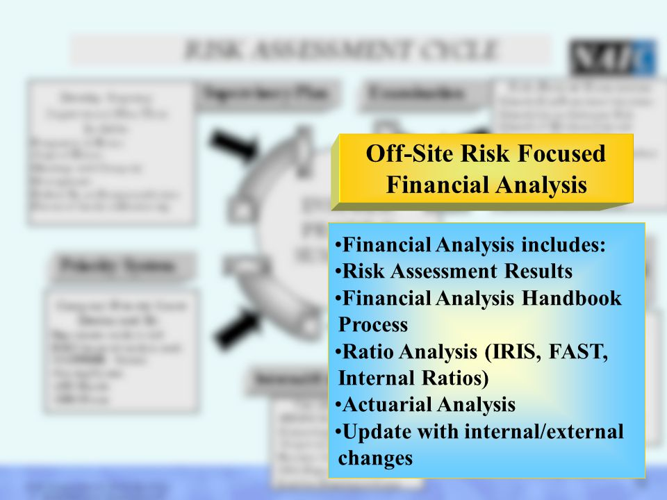 Off-Site Risk Focused Financial Analysis