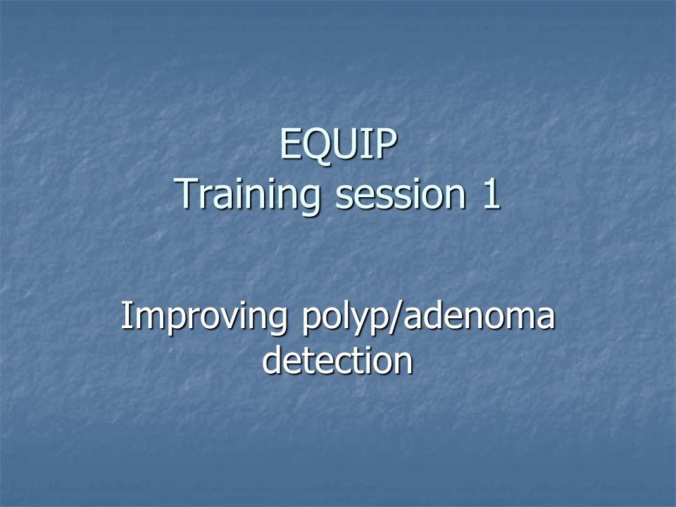 EQUIP Training session 1