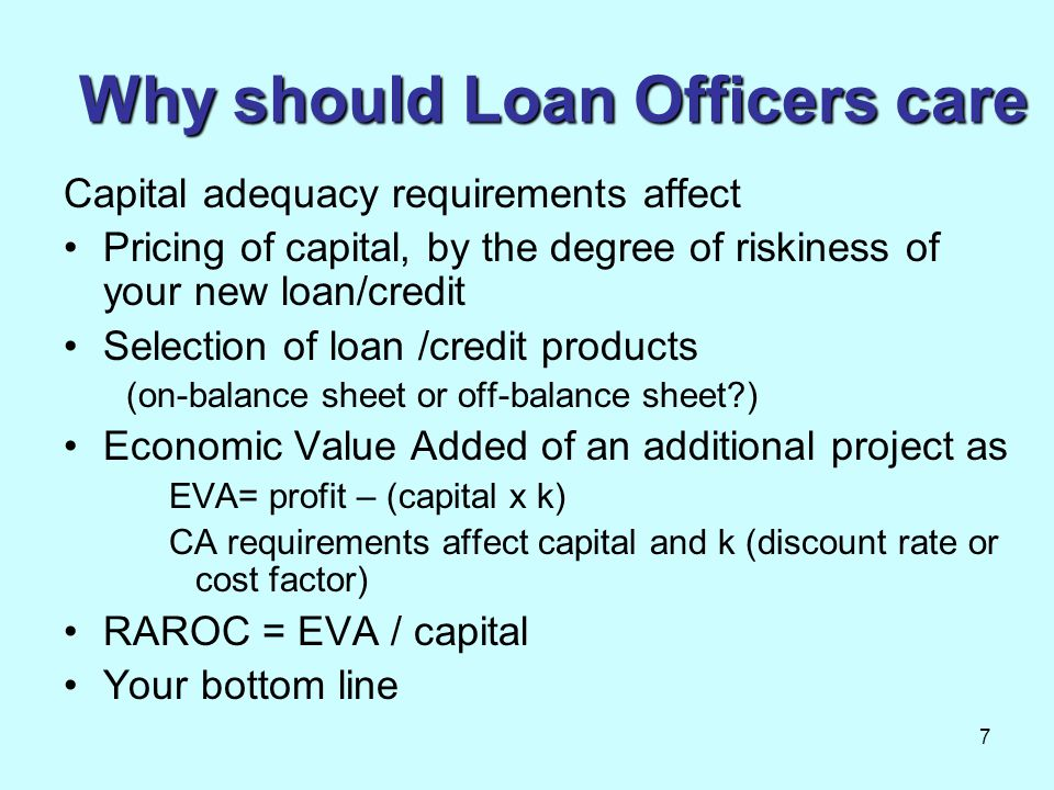 Why should Loan Officers care