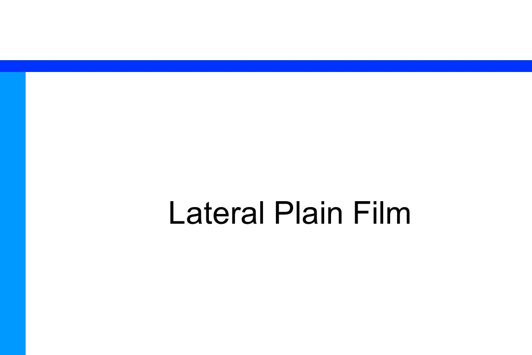 Lateral Plain Film