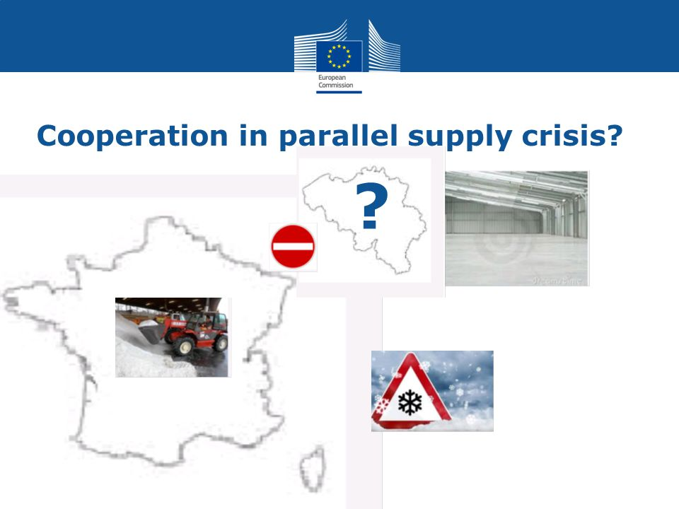 Cooperation in parallel supply crisis