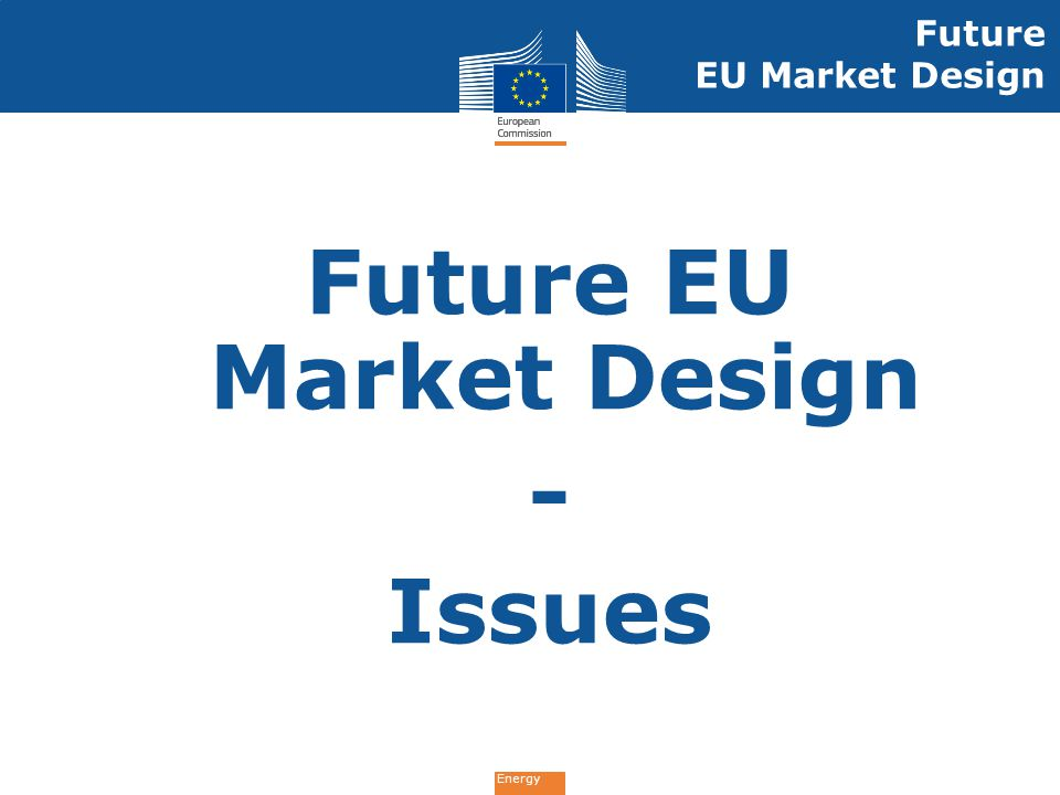 Future EU Market Design