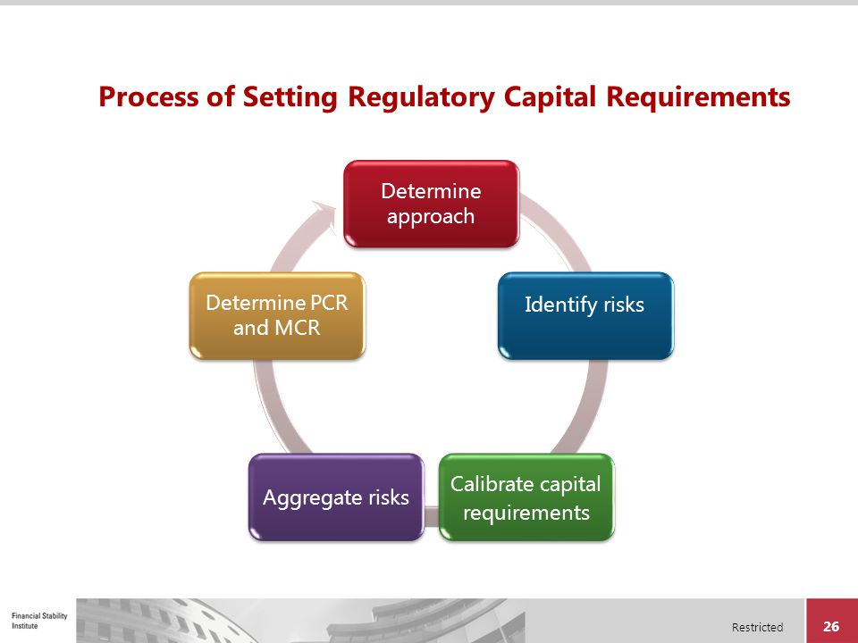 Process of Setting Regulatory Capital Requirements