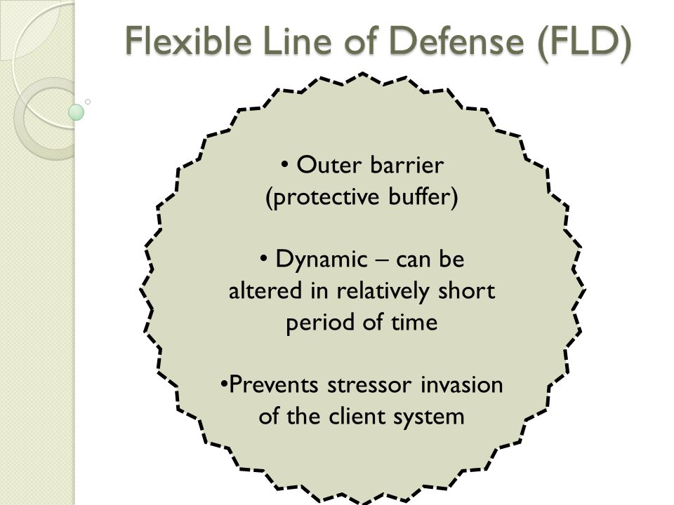 Flexible Line of Defense (FLD)