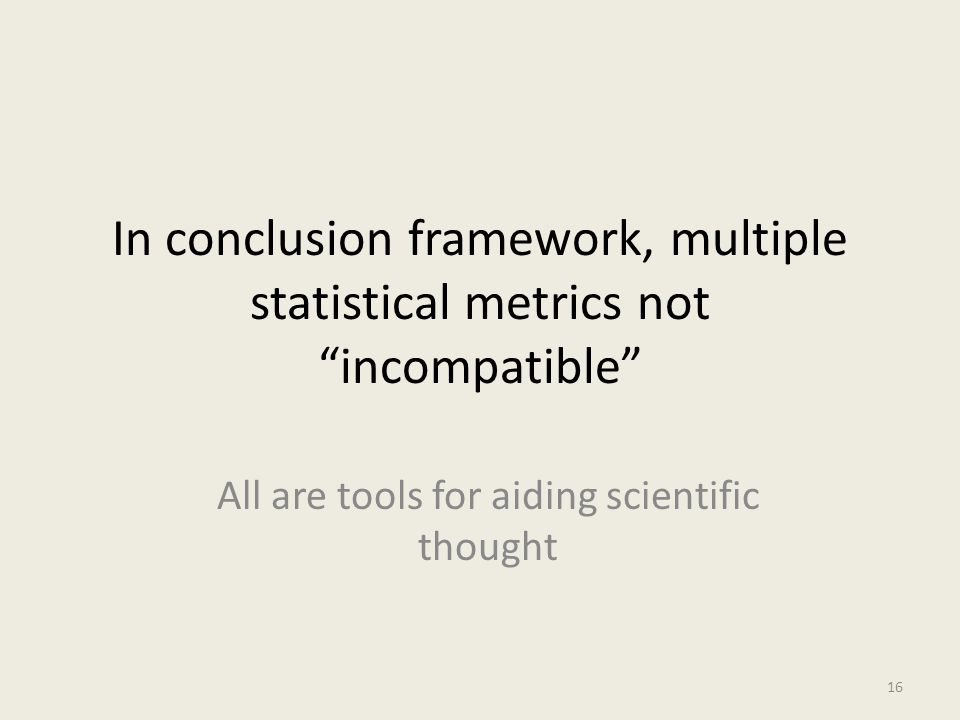 All are tools for aiding scientific thought