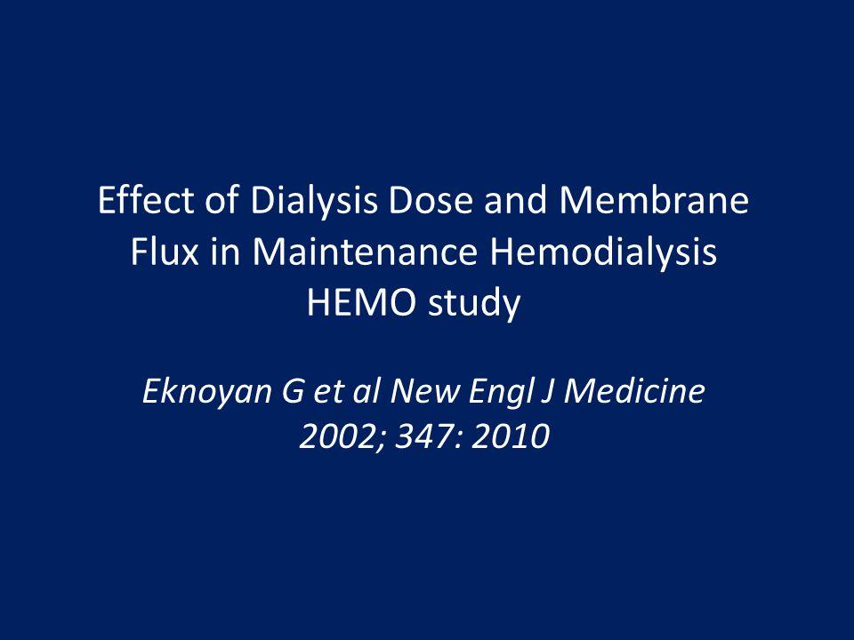 Eknoyan G et al New Engl J Medicine 2002; 347: 2010