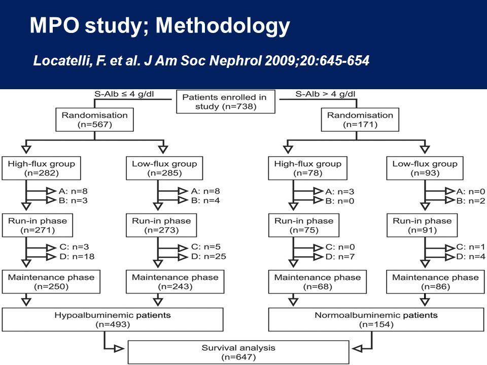 MPO study; Methodology Locatelli, F. et al