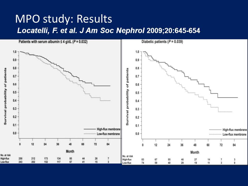 MPO study: Results Locatelli, F. et al