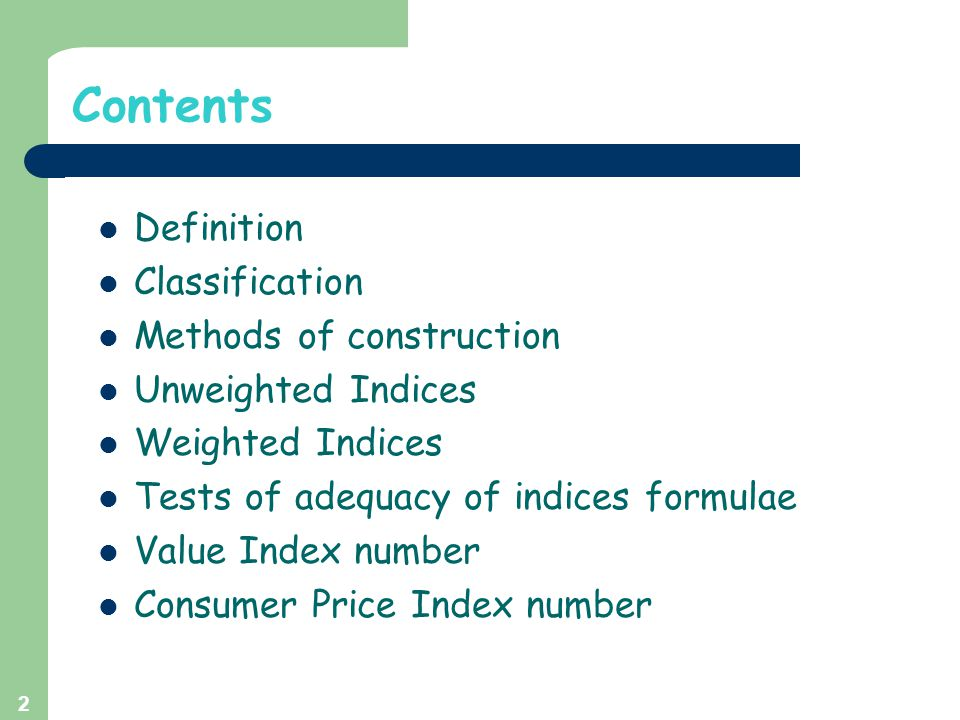 Contents Definition Classification Methods of construction