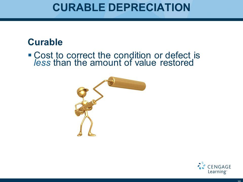 CURABLE DEPRECIATION Curable