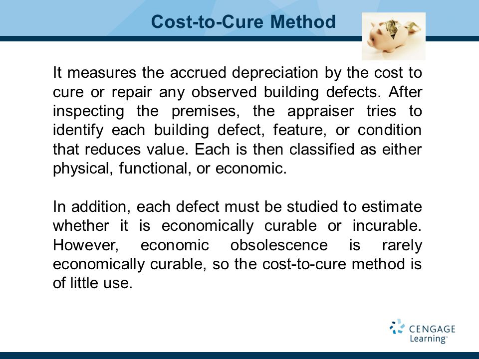 Cost-to-Cure Method