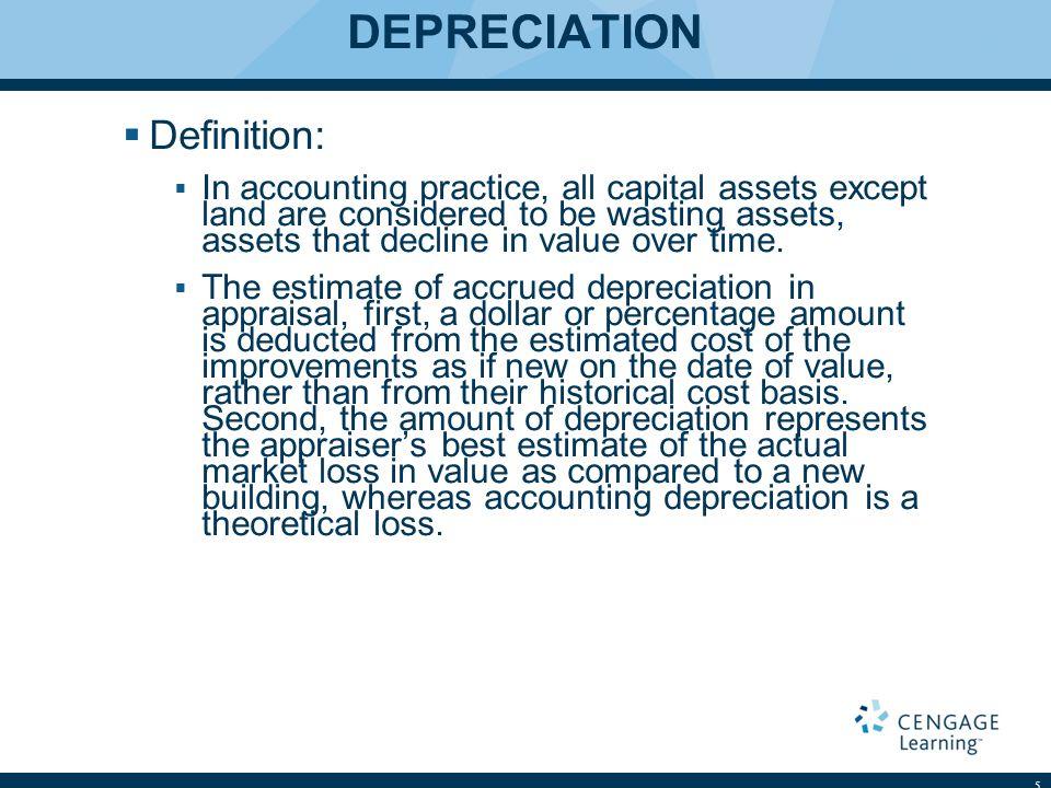 DEPRECIATION Definition:
