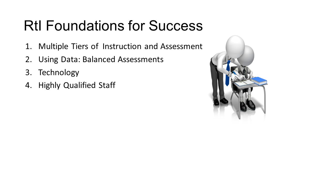 RtI Foundations for Success