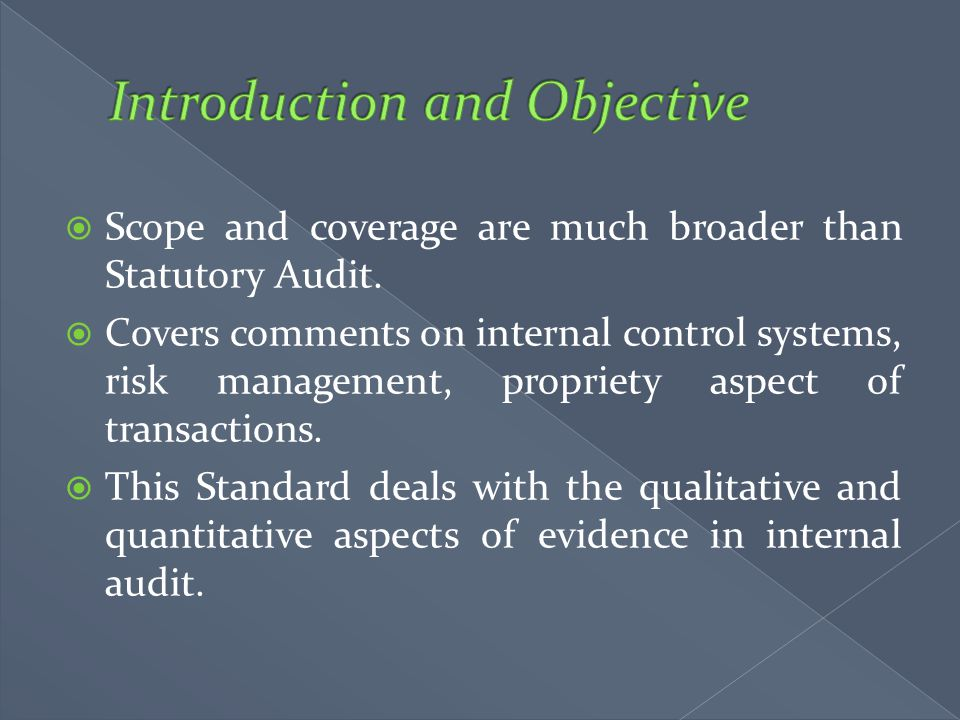 Introduction and Objective