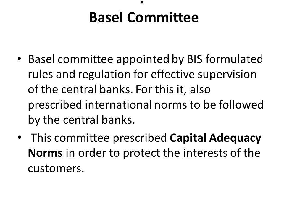 . Basel Committee