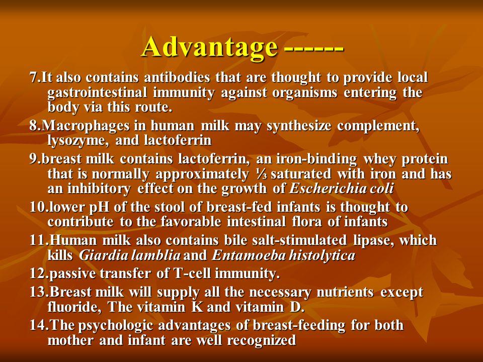 Advantage ------
