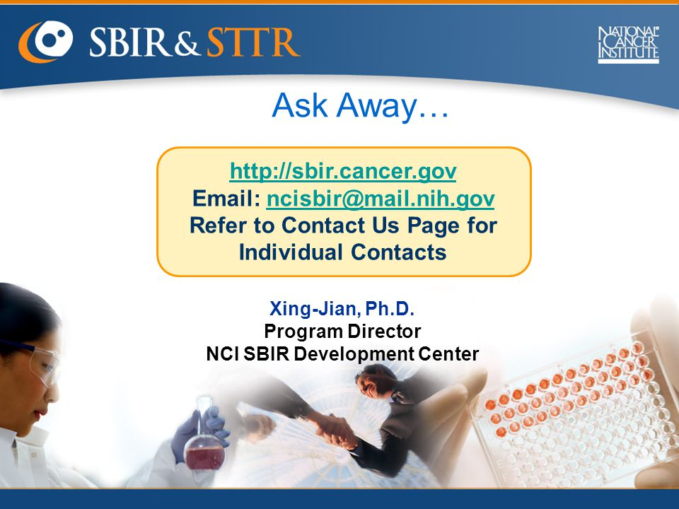 Refer to Contact Us Page for Individual Contacts