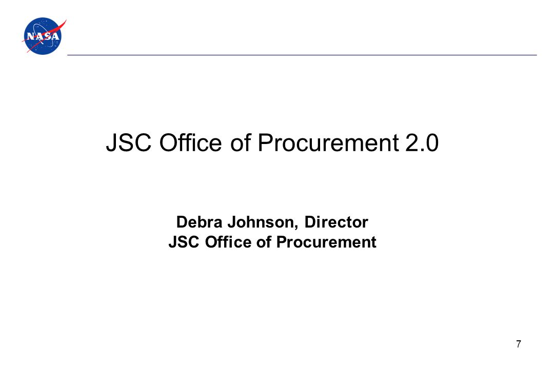 JSC Office of Procurement 2.0