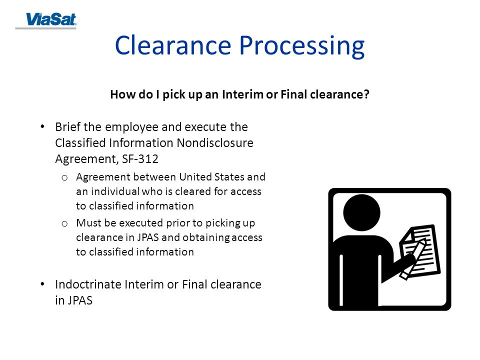 How do I pick up an Interim or Final clearance