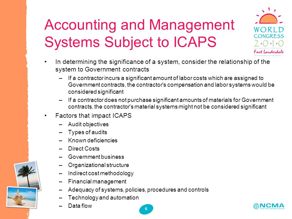 Why the Scope of the ICAPS is Important