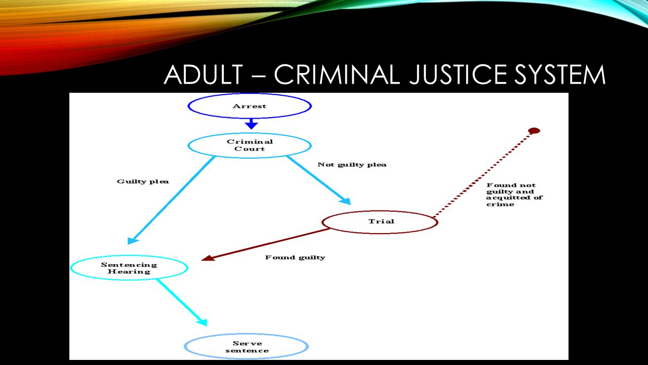 adult and juvenile justice system The division of juvenile justice provides education and treatment to california's youthful offenders up to the age of 25 who have the most serious criminal backgrounds and most intense treatment needs most juvenile offenders today are committed to county facilities in their home community where .