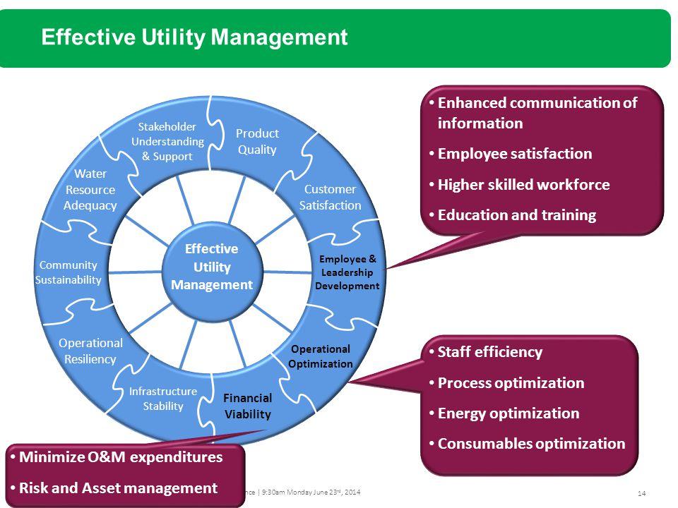 Effective Utility Management