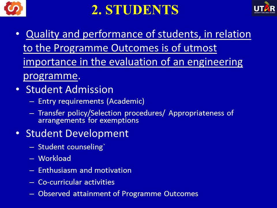 2. STUDENTS
