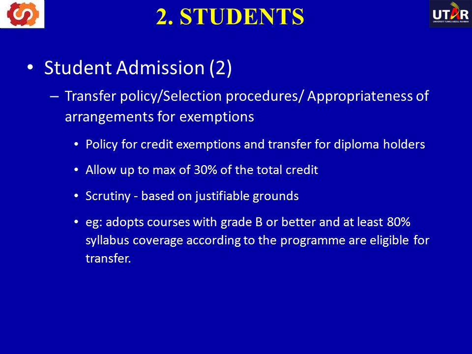 2. STUDENTS Student Admission (2)