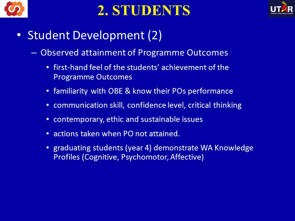 2. STUDENTS Student Development (2)