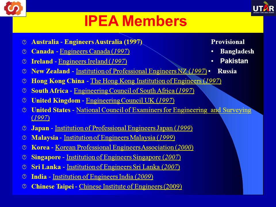 IPEA Members Australia - Engineers Australia (1997)