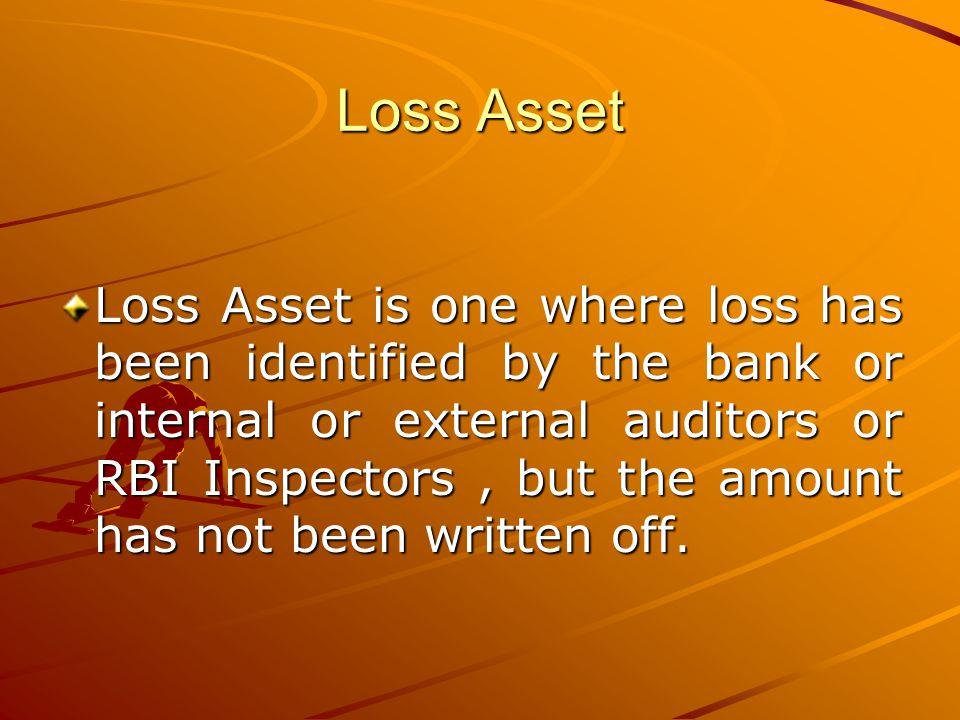 Loss Asset