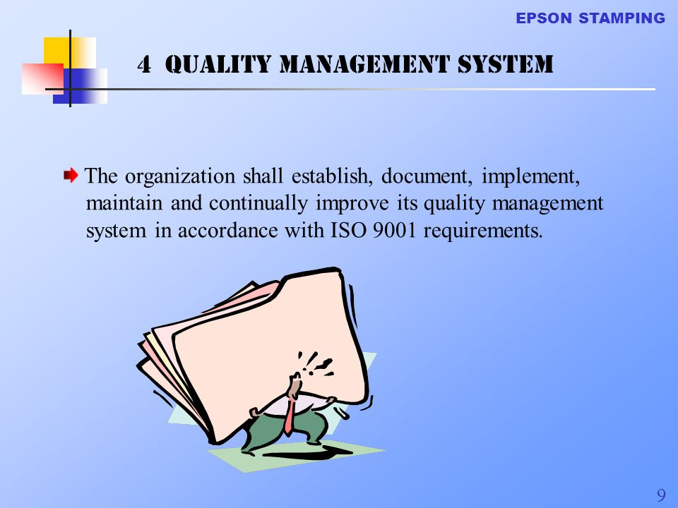 4 Quality Management system