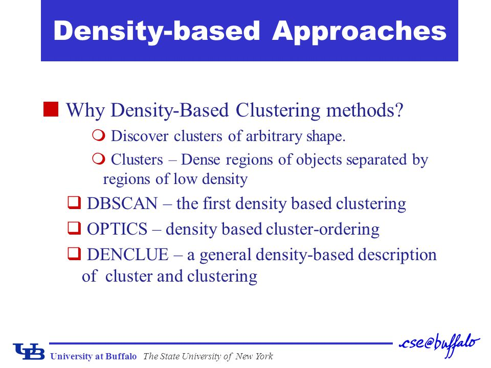 Density-based Approaches