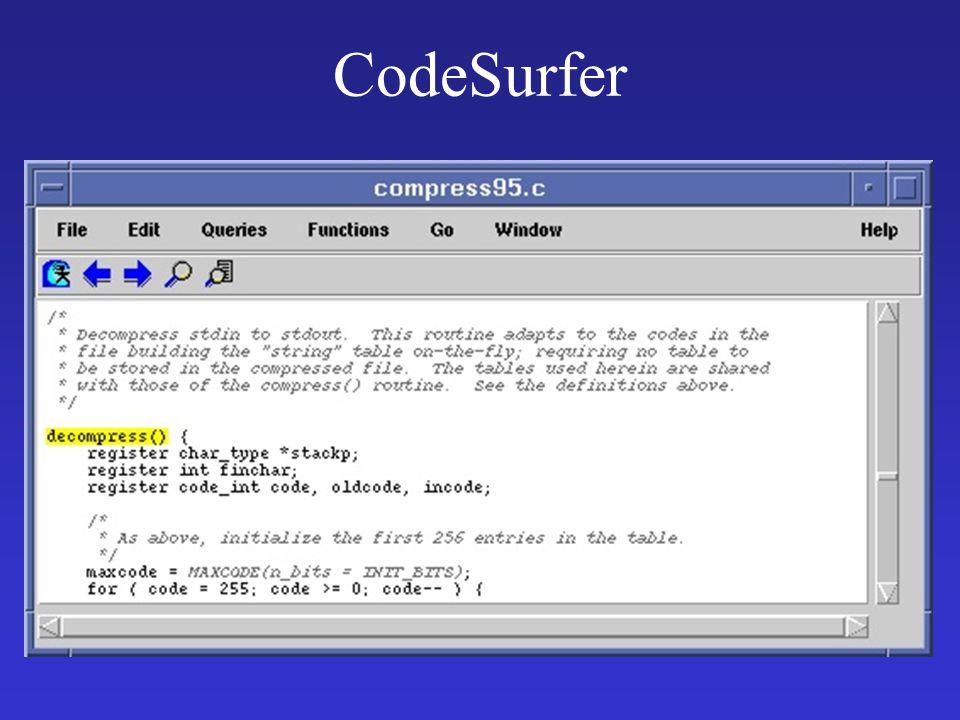 CodeSurfer