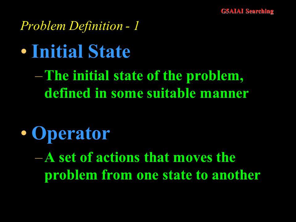 Initial State Operator