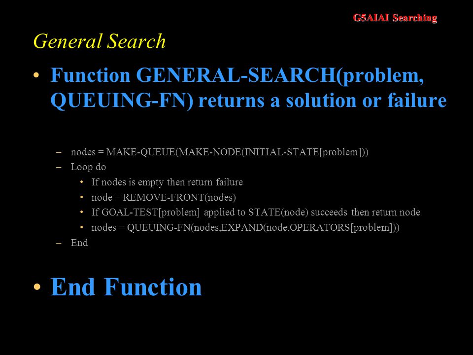 End Function General Search