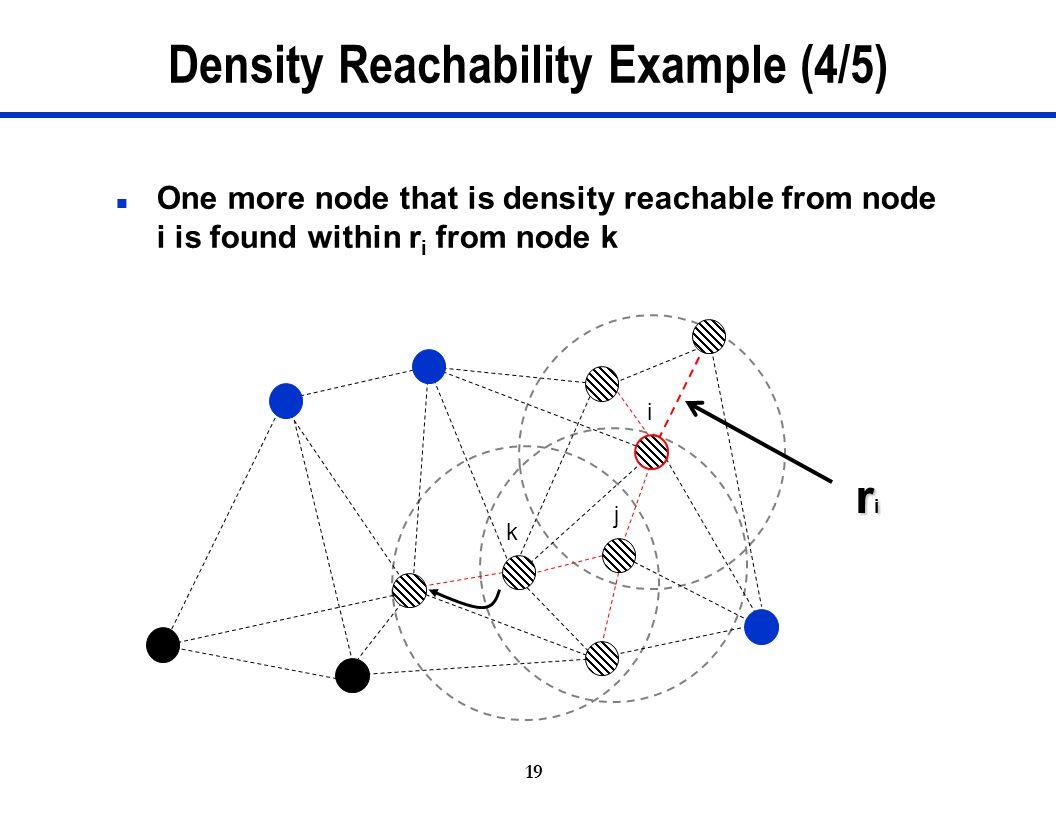 Density Reachability Example (4/5)