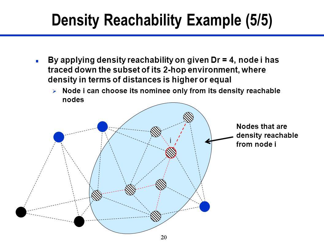 Density Reachability Example (5/5)
