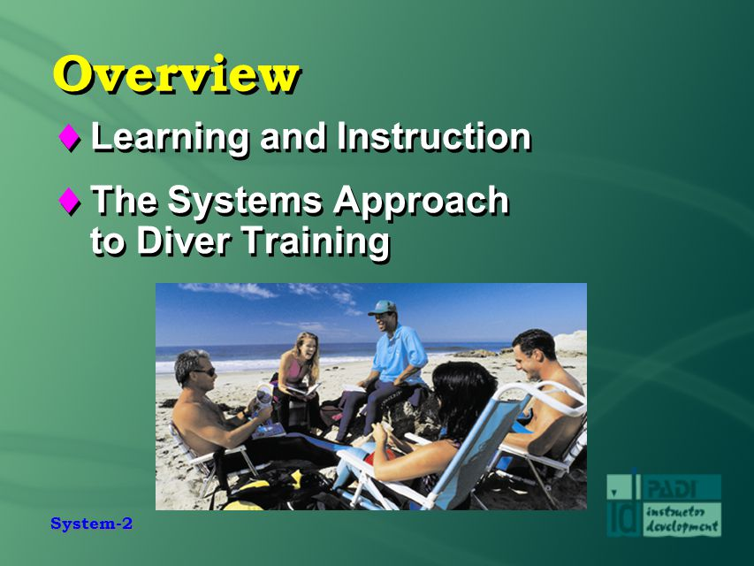 Overview Learning and Instruction