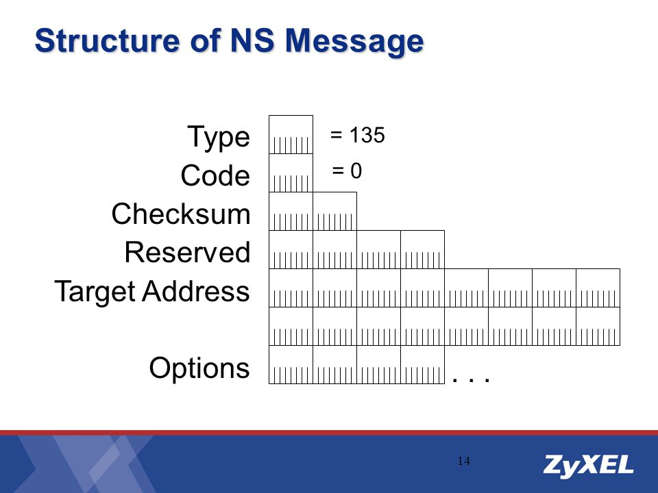 Structure of NS Message